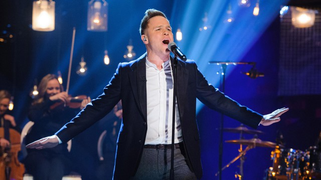 Olly Murs belts out his hits on 'The Graham Norton Show.'