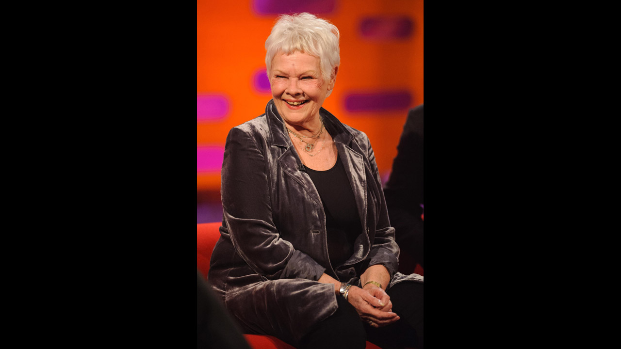Actress Judi Dench visits 'The Graham Norton Show.'