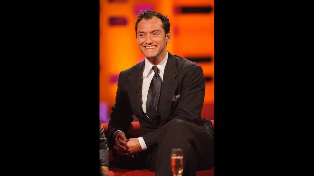 "The talented Jude Law stops by ""The Graham Norton Show.'"