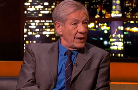 Sir Ian Mckellen on ITV's The Jonathan Ross Show