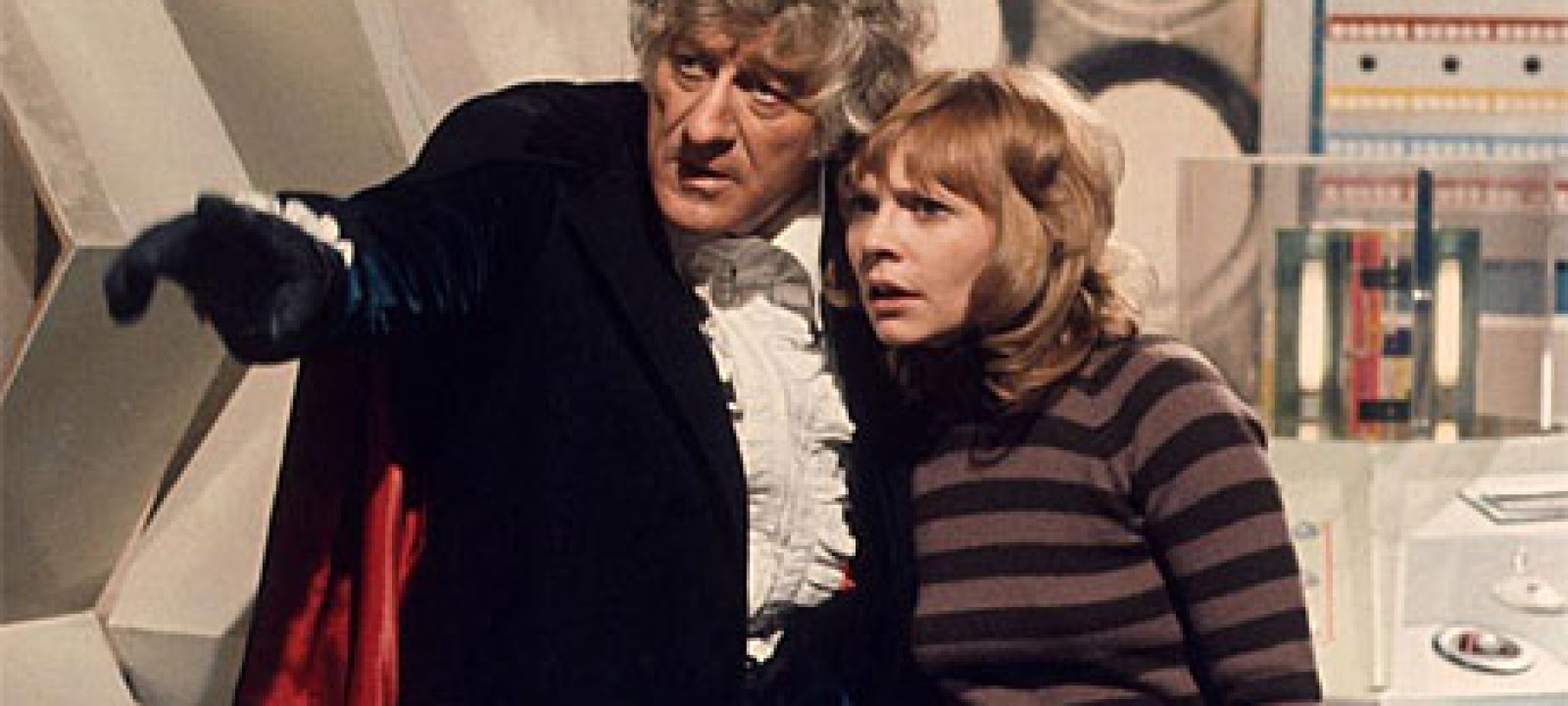 The Third Doctor and Jo Grant