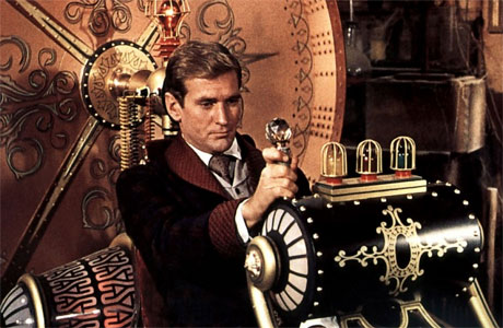 The time machine (and gentleman operator) from The Time Machine by HG Wells.