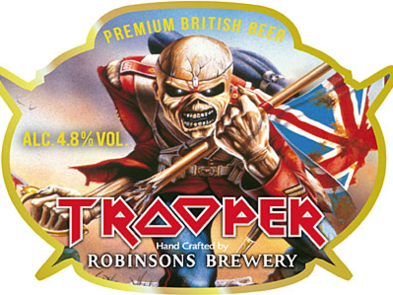 Iron Maiden's Trooper Ale