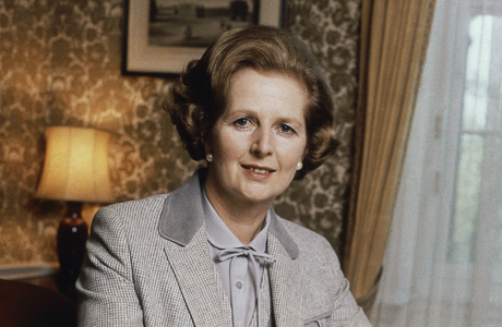 Former Prime Minister Margaret Thatcher passes away on April 8. (AP)