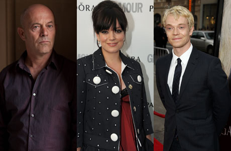 Left to Right: Keith Allen (BBC), his daughter Lily (Rex Features via AP Images) and his son Alfie (Matt Sayles /Invision/AP)