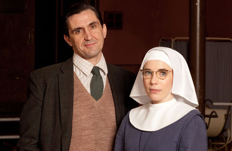 Sister Bernadette faces her feelings for Dr. Turner. (BBC)