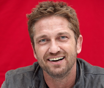 Gerard Butler doing publicity for 'Olympus Has Fallen' in New York last month. (Theo Kingma, Rex Features/AP Images)