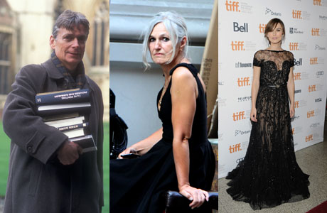 Left to Right: Will Knightley (BBC), his wife Sharman Macdonald (Rex Features via AP Images) and their daughter Keira (Evan Agostini/Invision/AP)