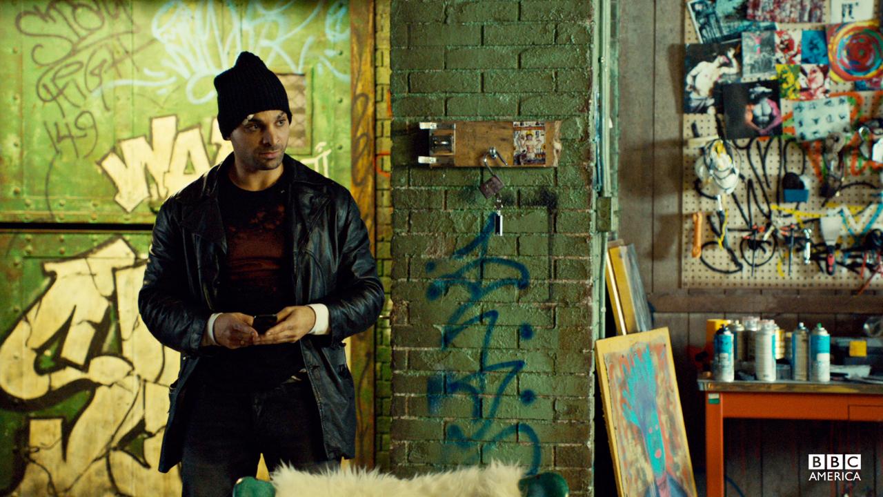 Graffiti walls.