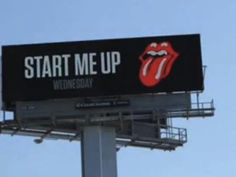 Stones Billboard Ad