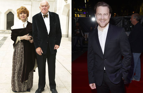 Left to Right: Prunella Scales and Timothy West (Yui Mok/PA Wire) and their son Samuel West (Jon Furniss/Invision)