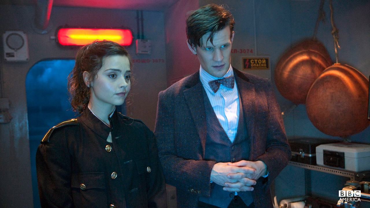 """Hair, shoulder pads, nukes. It's the 80's, everything's bigger."" - The Doctor"
