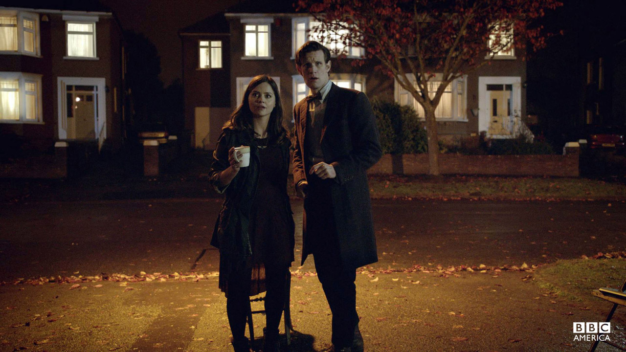The Doctor: Human souls. Trapped like flies in the World Wide Web. Stuck forever. Crying out for help. Clara: Isn't that basically Twitter?