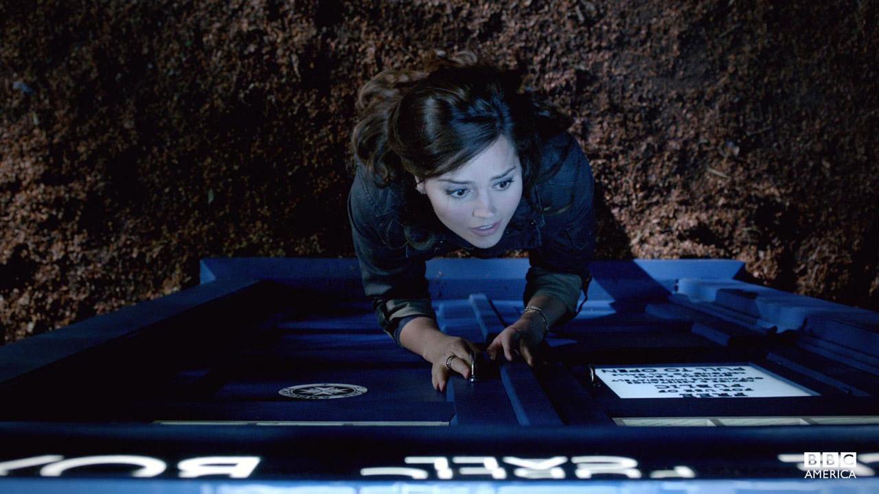 """Let me in you grumpy old cow!"" - Clara"