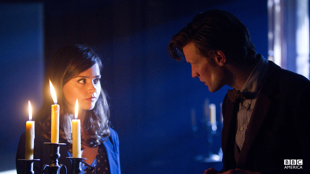 """Doctor, I may be a teeny tiny bit terrified."" - Clara"