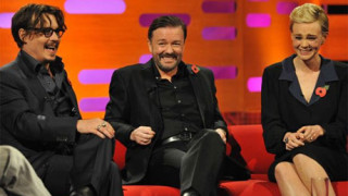 Johnny Depp, Ricky Gervais and Carey Mulligan on the Graham Norton Show
