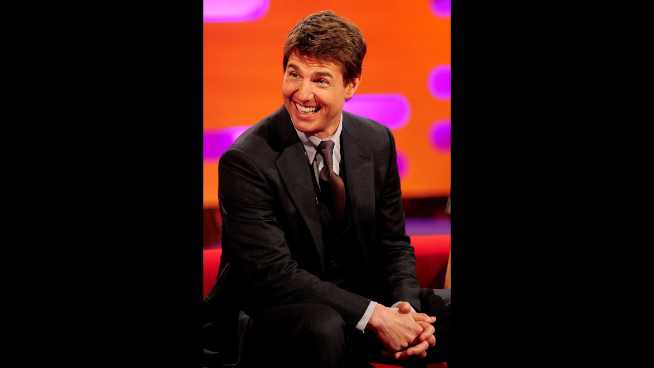 Hollywood mega-star Tom Cruise.