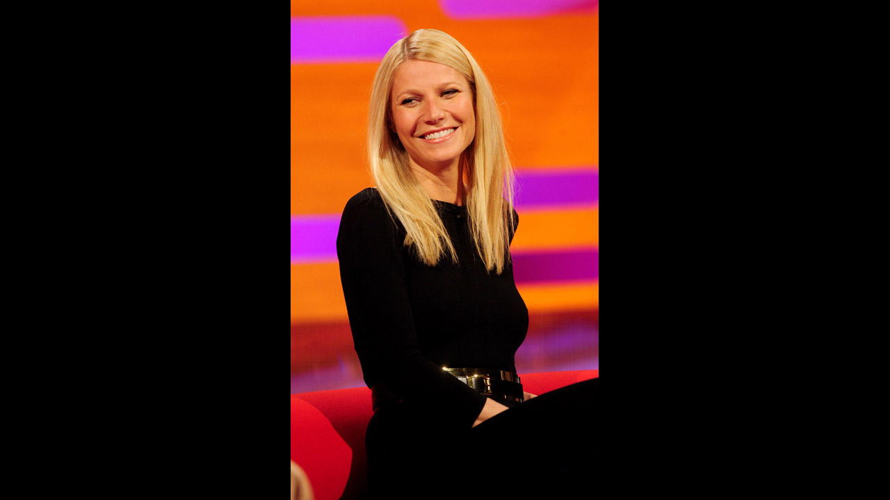 Actress Gwyneth Paltrow looks as stunning as always.