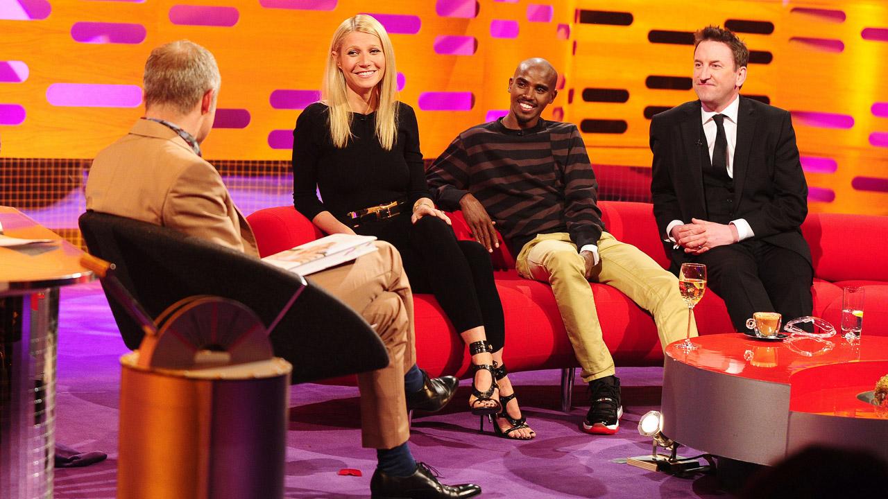 Gwen, Mo, and Lee kick back at 'The Graham Norton Show.'