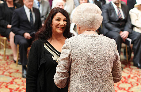 Kate Bush gets her CBE