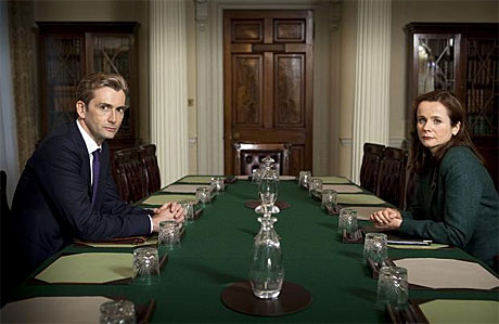 David Tennant and Emily Watson in 'The Politician's Husband'