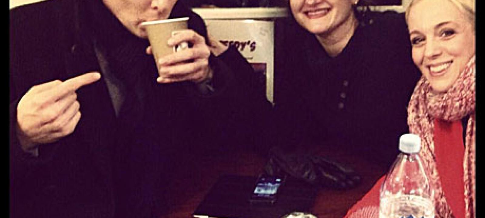 Benedict Cumberbatch in Speedy's Cafe