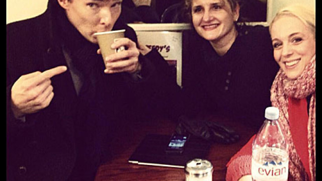 Benedict Cumberbatch in Speedy's Cafe