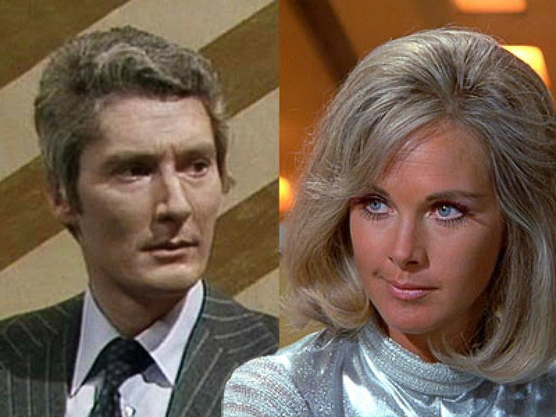 Timothy Carlton and Wanda Ventham