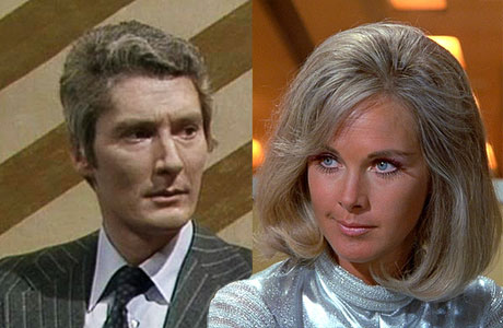 Timothy Carlton and Wanda Ventham