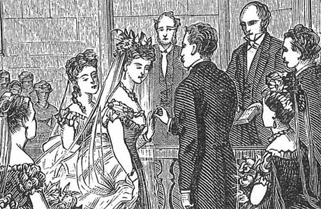 "A Victorian wedding: ""Did you wash your hands?"""