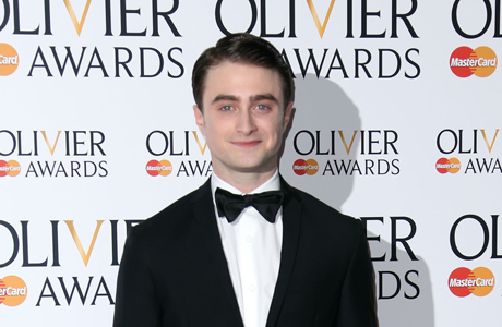 Daniel Radcliffe at the 2013 Olivier awards in London. (Photo: Joel Ryan/Invision/AP)