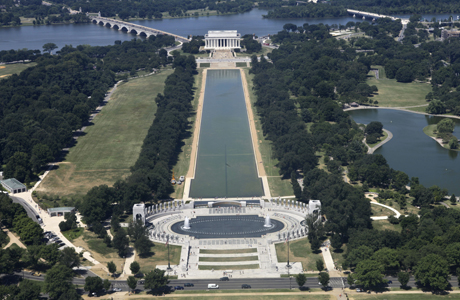 The National Mall in Washington, DC. (AP Photo/Jacquelyn Martin)
