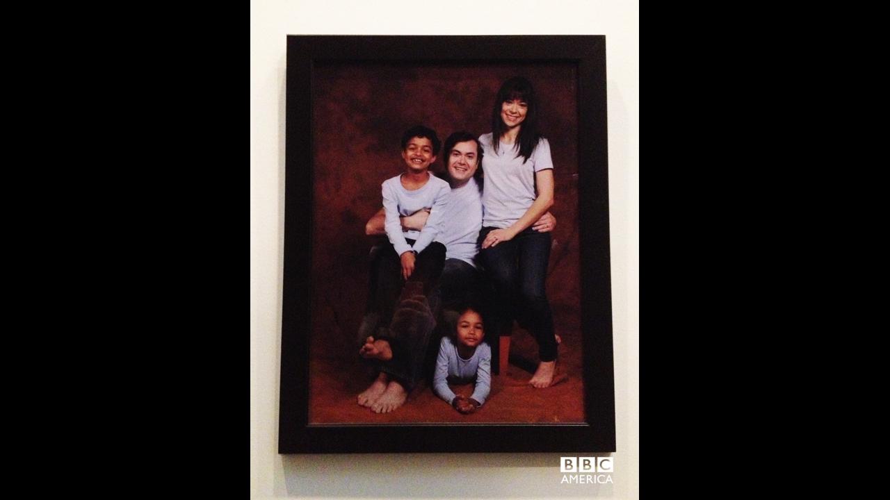 Classic family portrait.
