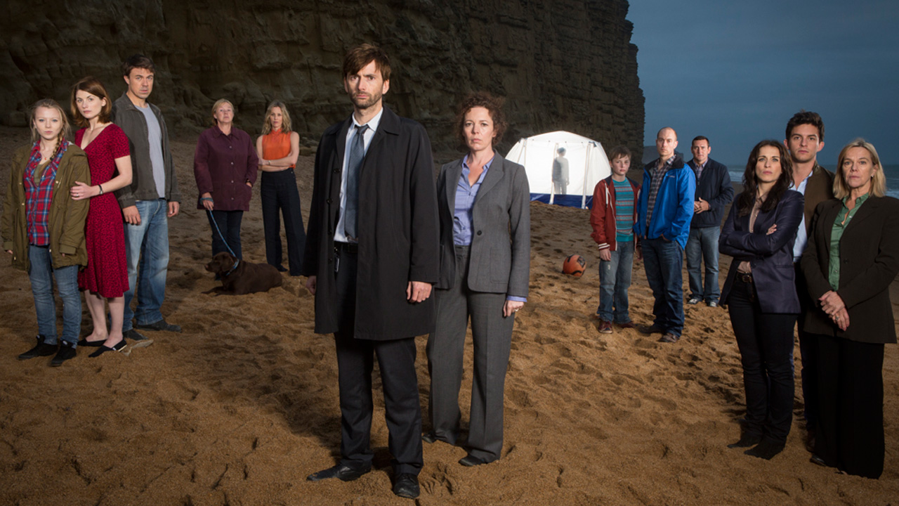 The cast of 'Broadchurch'