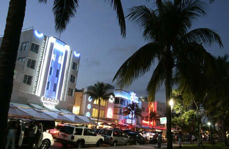 Art Deco along Ocean Drive in Miami Beach. (AP Photo/Lynne Sladky, File)