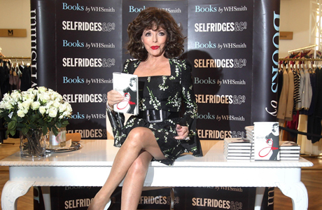 The World According To Joan Book Signing At Selfridges London In 2012 Ap