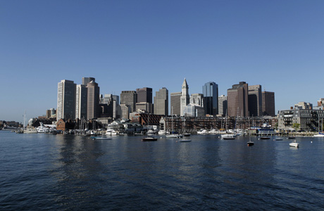 Boston's skyline. (AP Photo/Robert F. Bukaty)