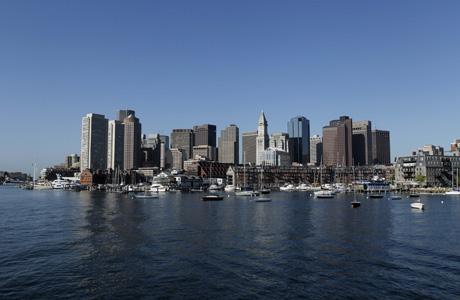 Boston's skyline. (AP Photo/Robert F. Bukaty)