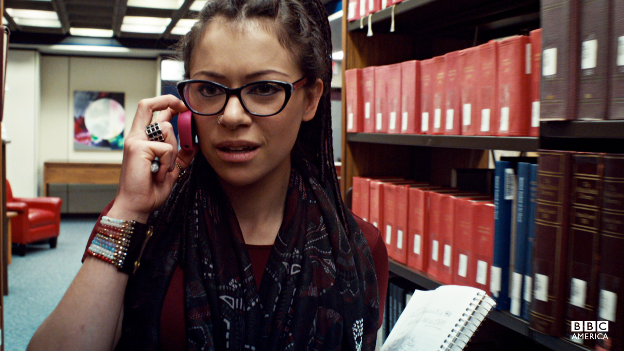 "Cosima is sick of playing the ""geek monkey"" and decides to turn the tables on her monitor, Delphine."