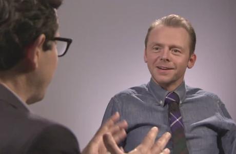 Simon Pegg interviews J.J. Abrams. (Screen Shot)