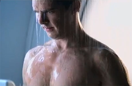 Benedict Cumberbatch in a deleted scene from Star Trek Into Darkness