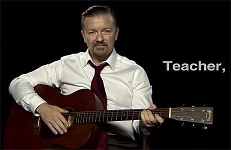 David Brent, Teacher.