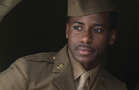 Gary Carr in the ITV drama Foyle's War
