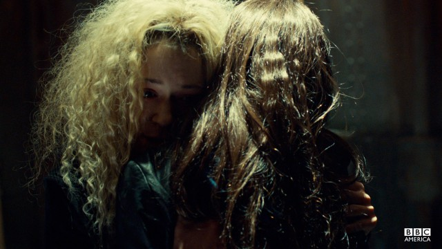 I Love You? The only thing scarier than a psychopath clone out to kill you? A psychopath clone who loves you. Sarah's mix of horror and sympathy makes the sisters' hug scene one of the most compelling moments of the series.
