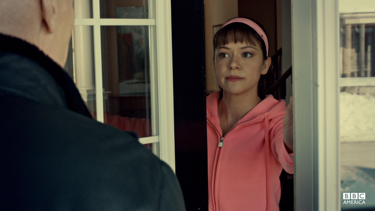 Alison's weary of letting Doctor Leekie into her home.