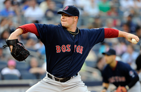 Nice PJs: Red Sox pitcher Jon Lester. (Photo: Bill Kostroun/AP)