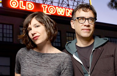 Carrie Brownstein and Fred Armisen from 'Portlandia' (Photo: IFC)