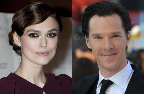 Keira Knightley is in talks to join Benedict Cumberbatch on screen. (AP)