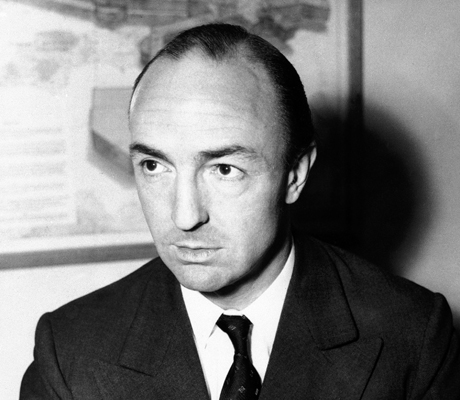 John Profumo in 1952 prior to the scandal. (AP)