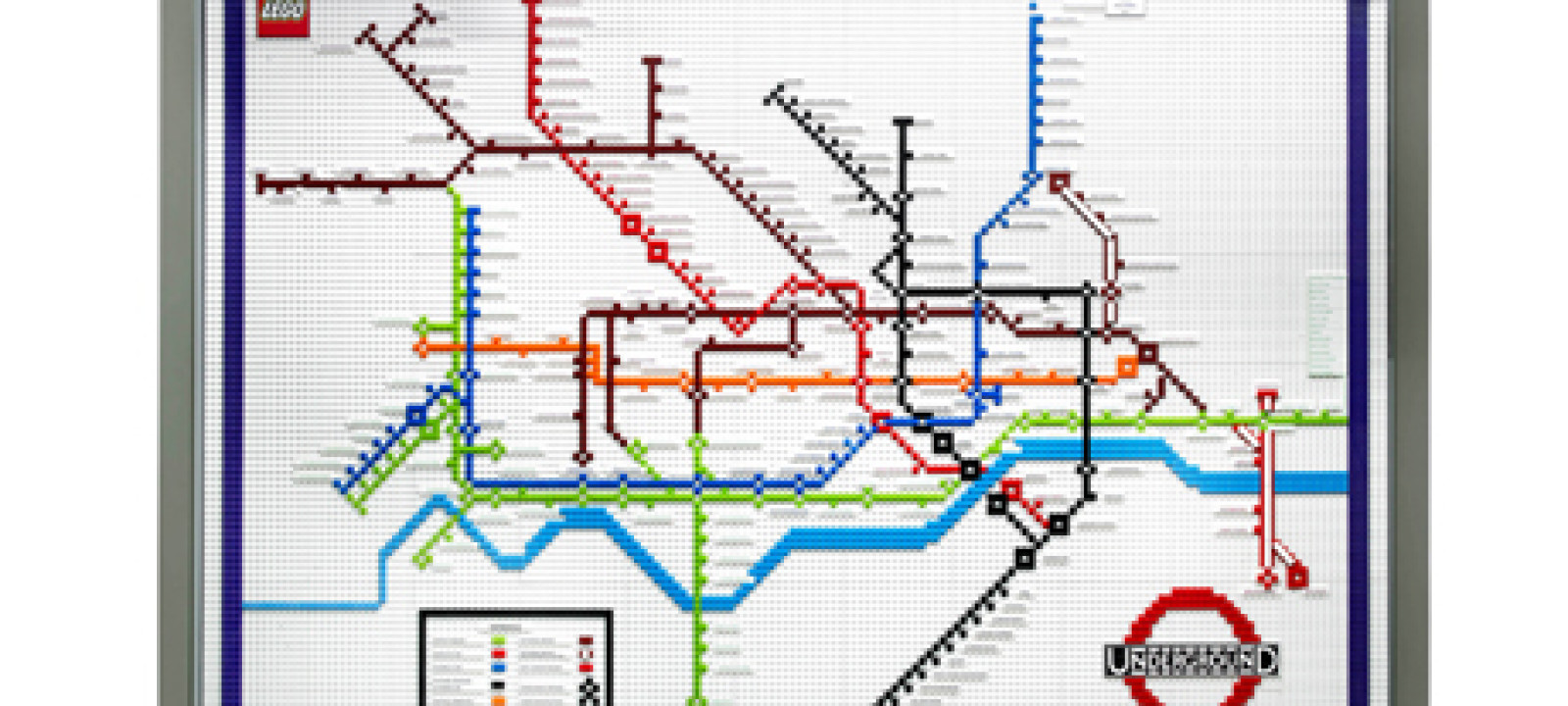 Lego Tube Map